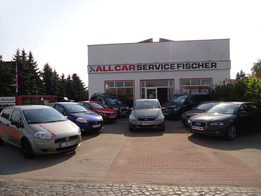 Autos Eingang All Car Service Fischer
